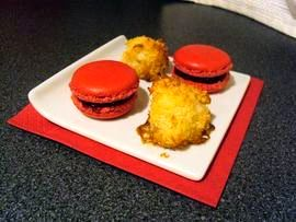 Macarons and congolais