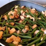 Chicken and green bean 22