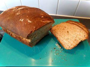 Rye flour bread 32