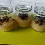 Apple, pear compote with sultanas2