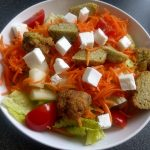 Falafel and feta salad2