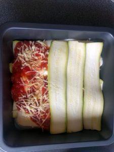 Tomato Zucchini lasagne 32