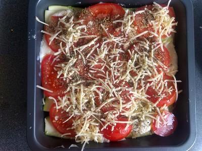 Tomato Zucchini lasagne 52
