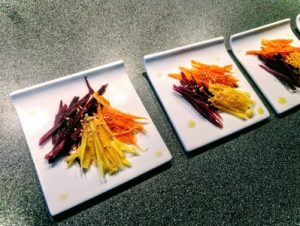 Grated carrots 12
