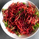 salad with Jerusalem artichoke 22