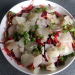 salad with Jerusalem artichoke 32