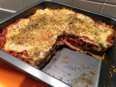 Cabbage lasagne 42