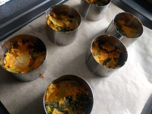 Rosti with sweet potato, leek and kale22