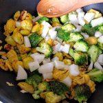 Stir fry daikon 32