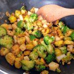Stir fry daikon 42