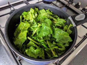 Spinach with cream 12