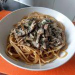 Pasta with mushrooms 22