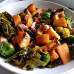 Stir fry with Head of Brussels sprout 42